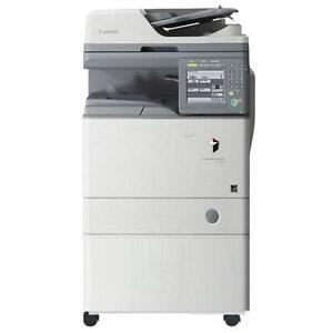 Canon ImageRunner 1740iF 1740 Black/White Print Scan Copy Machine Photocopier - BUY or LEASE Printer Office Copiers