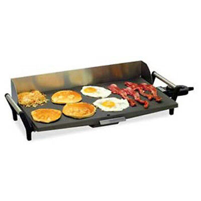 Commercial Griddle - Portable Electric 21wx12-12dx5-12h Overall