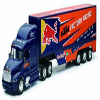 KTM RED BULL RACING TEAM TRUCK DIECAST MODEL LORRY TOY GIFT SCALE 1:32, used for sale  Shipping to Ireland