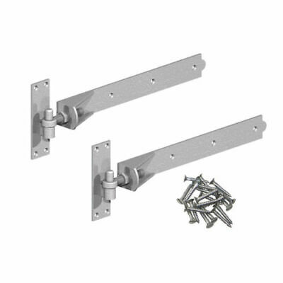 hook and band gate hinges heavy duty adustable galvanise 48