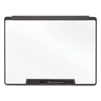 Quartet Motion Portable Dry Erase Board 36 X 24 White Black Frame Qrtmmp75