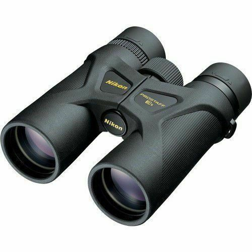 Nikon ProStaff 3S 10x42 Multi Layer Lightweight Waterproof Binoculars, Black