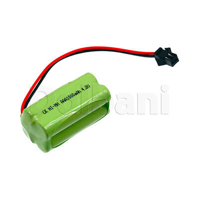 Rechargeable Battery Ni-MH AAA with Cable 2 Pin 4.8V 1000mAh for sale  Shipping to India