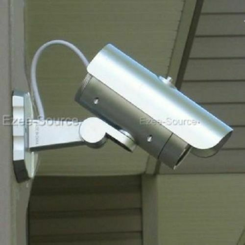 12 FAKE SECURITY VIDEO SURVEILLANCE CAMERA w/ LED MOTION