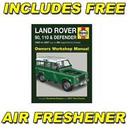 Haynes Land Rover Defender