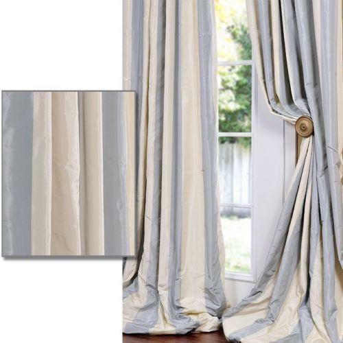 Faux Silk Taffeta Curtains Ebay
