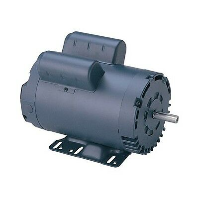 New 5 Hp 3450 Rpm 230v Single Phase Air Compressor Electric Motor 145t 78 Shaft