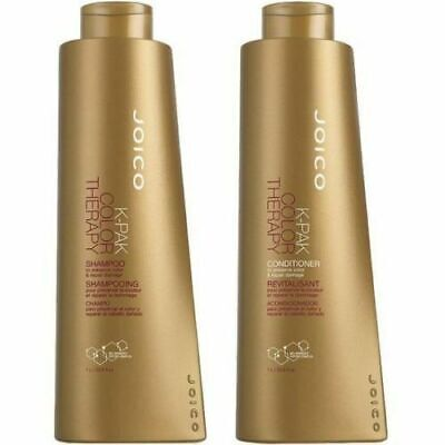 Joico K Pak Color Therapy Shampoo and Conditioner Liter Size Duo, 1 L/33.8