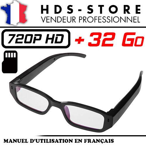 Glasses+Camera+Spy+VUECAM3+HD+720P%2B+Micro+SD+32+Go+Video+Photo