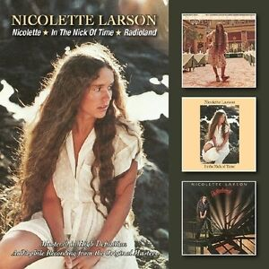 Nicolette Larson - Nicolette/In the Nick of Time/Radioland [New CD] UK - Import