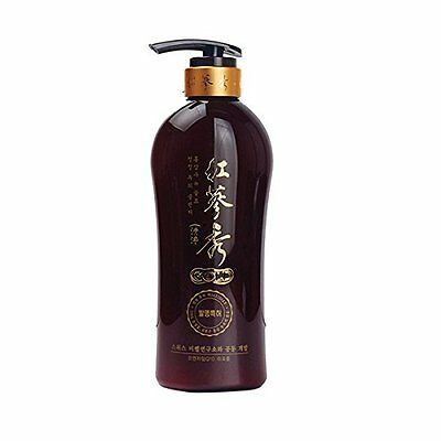 SOMANG Korea herbal 6years-old Red Ginseng extract Shampoo 730ml