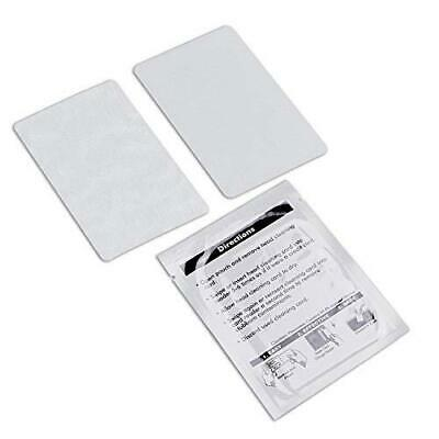 Cr80 Cleaning Cards Dual Side Presaturated Card Reader Cleaner Pos Swipe