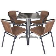 balkonm bel rattan garnituren sitzgruppen ebay. Black Bedroom Furniture Sets. Home Design Ideas