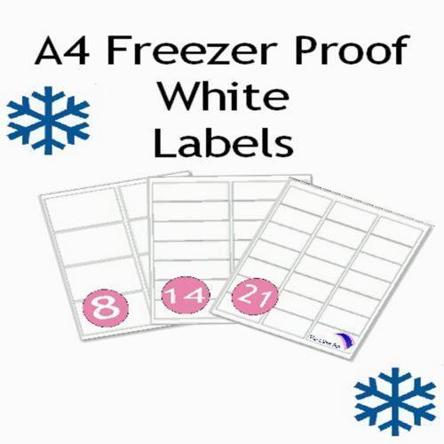 Freezer Labels