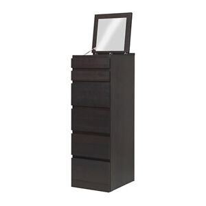 Drawer MALM :6-drawer chest, mirror glass (2 in stock)
