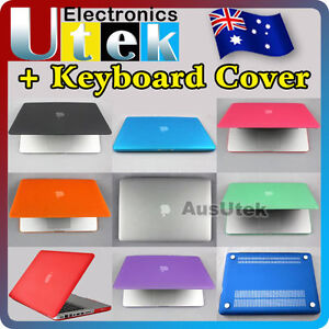 Satin Hard Case Rubberized Cover For Apple Mac Macbook Pro 13.3