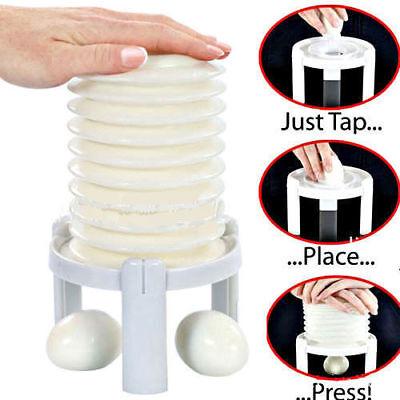 New Magic Eggstractor Boiled Egg Shell Remover Hard Egg Peeler Kitchen Tool