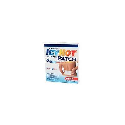 3 Pack Icy Hot Extra Strength Medicated Patch Large 5 Cou...