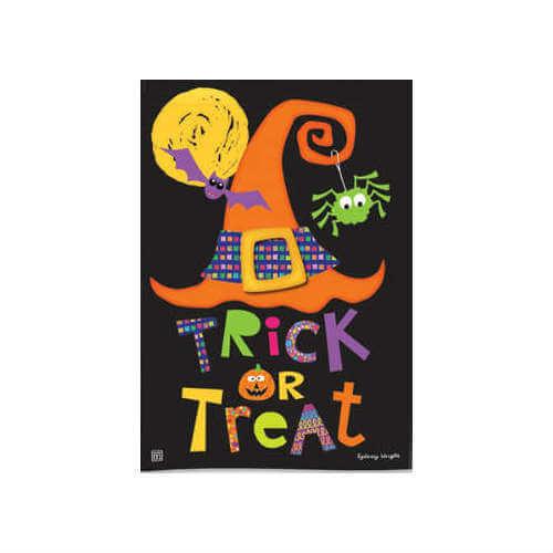 BreezeArt® Halloween Garden Flag, Witches Halloween