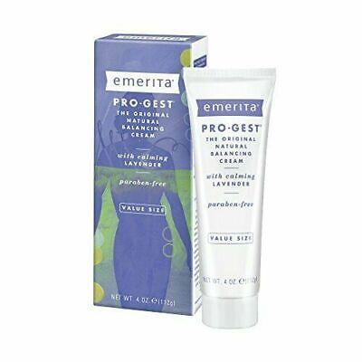 Pro-gest Natural Balancing Cream w/ Lavender Paraben Free 4