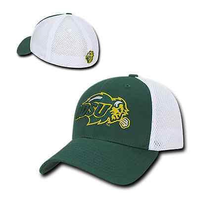 North Dakota St State University NDSU Flex Mesh Baseball Fitted Ball Cap -