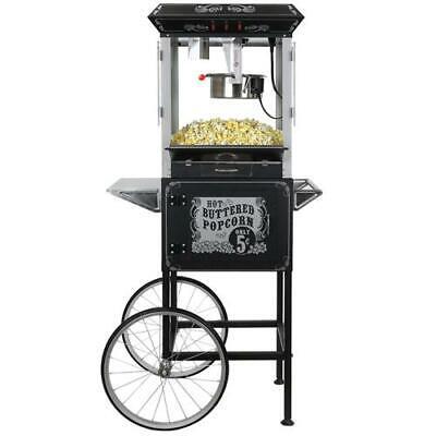 FunTime Full Size Carnival Style 8 oz. Hot Oil Popcorn Machi