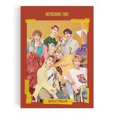 Spectrum-[Refreshing Time]3rd Single Album CD+PhotoBook+Card+Post+etc+Tracking