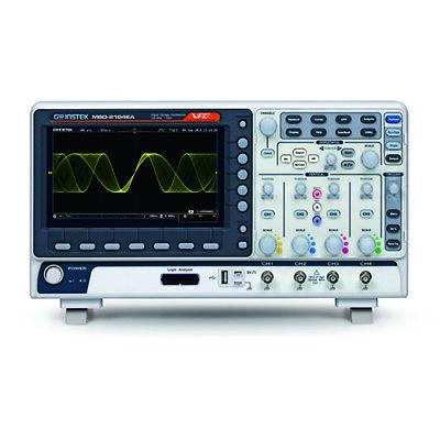 Instek Mso-2204ea 200 Mhz 4-ch. Digital Storage Oscilloscope La Afg