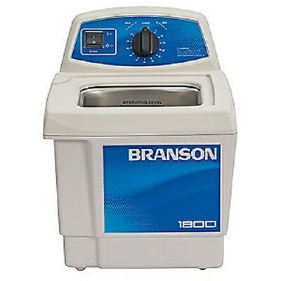 Branson M1800h Ultrasonic Cleaner W Mechanical Timer Heater Cpx-952-117r 0.5g