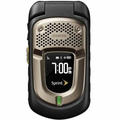 Kyocera DuraXT E4277 - Black (Sprint) 3G Rugged GPS Flip Camera Cell Grade C