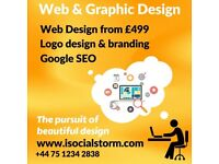 Fully managed, mobile-friendly websites designed and built for your business from just £499