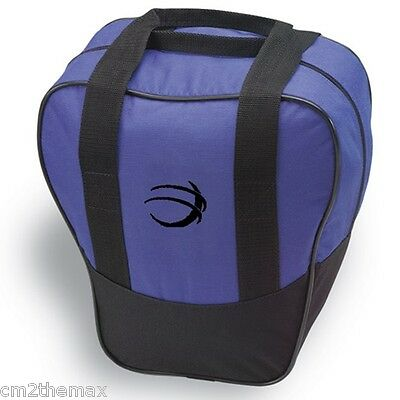 NIB BSI Nova bowling ball Bag navy blu w Free glove liner & free ship USA $14.99