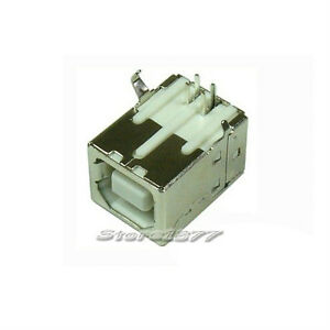 100pcs-USB-Type-B-Female-4Pin-Dip-Plug-Connector-Socket-s869