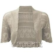 Ladies Knitted Shrug