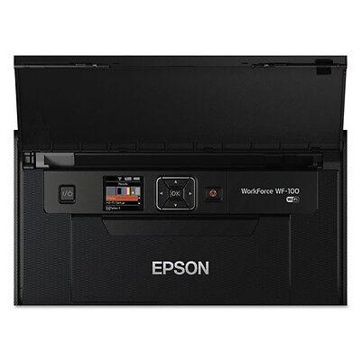Epson WorkForce WF-100 Wireless Mobile Printer - C11CE05201 (Epson Workforce 100 Mobile)