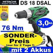 Hitachi Akkuschrauber 18V