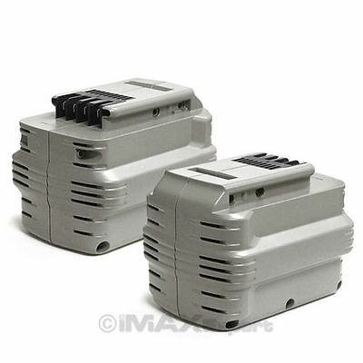 2 x 3.0AH 24V 24 VOLT Battery for DEWALT DE0240 DW0240 DW0242 24v 2 Ah Battery