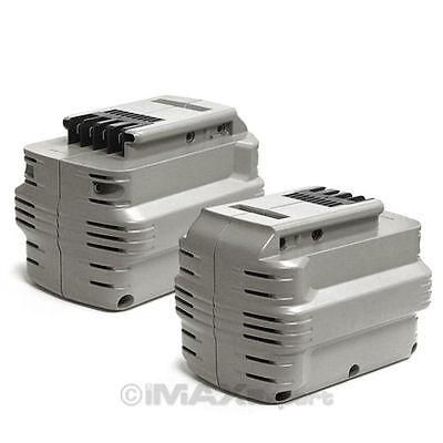 2 x 3.0AH 24V 24 VOLT Battery for DEWALT DE0240 DW0240 DW024
