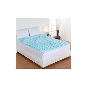 Gel Foam Mattress Topper Queen Memory Dream Form 2 034