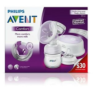 Philips Avent - ComfortBreast Pump - Single Electric + extras!