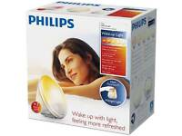 Philips daylight wake-up light alarm clock radio