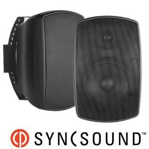 Indoor/Outdoor Black Speakers - NEW*