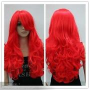 Bright Red Wig