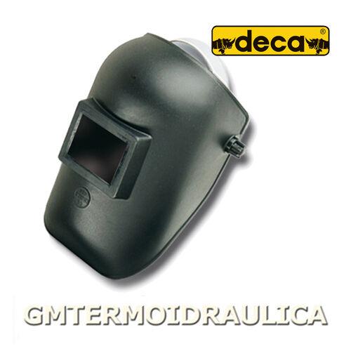 Maschera Casco DECA WM 20 Filtro inattinico DIN 11 per saldature MMA MIG TIG
