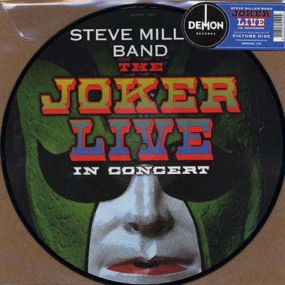 STEVE MILLER BAND THE JOKER LIVE IN CONCERT PICTURE DISC NEW DEMREC133 RSD