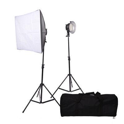 Promaster VL380 2-Light Portable LED Studio Lighting Kit