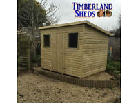 shiplap pent shed tongue and grove