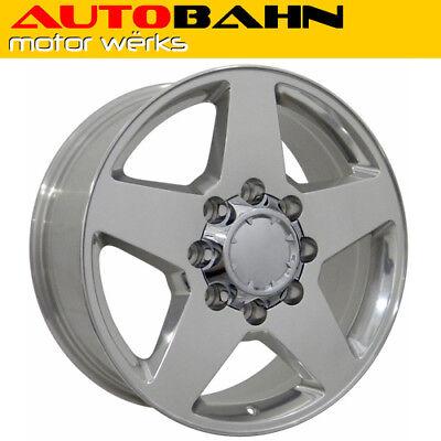 20x8.5 Polished Silverado 2500 HD Style 8 Lug Wheel Rim Fits Chevrolet INV100069