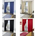 Contemporary Lined Curtains with Blackout
