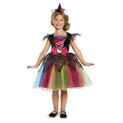 4t Witch Costume (Disguise Girls Deluxe Hello Kitty Witch Costume, Sanrio, X-Small 3T to)